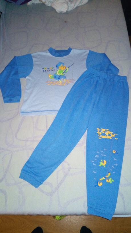 Bavlněné pyžamo, 116