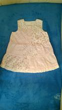 Letní šaty, vel 80 -86/92, ham, top stav, h&m,86
