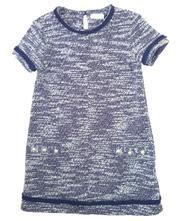 Bílo modré šaty, next,110