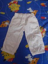 Letní plátěné kalhoty , 104