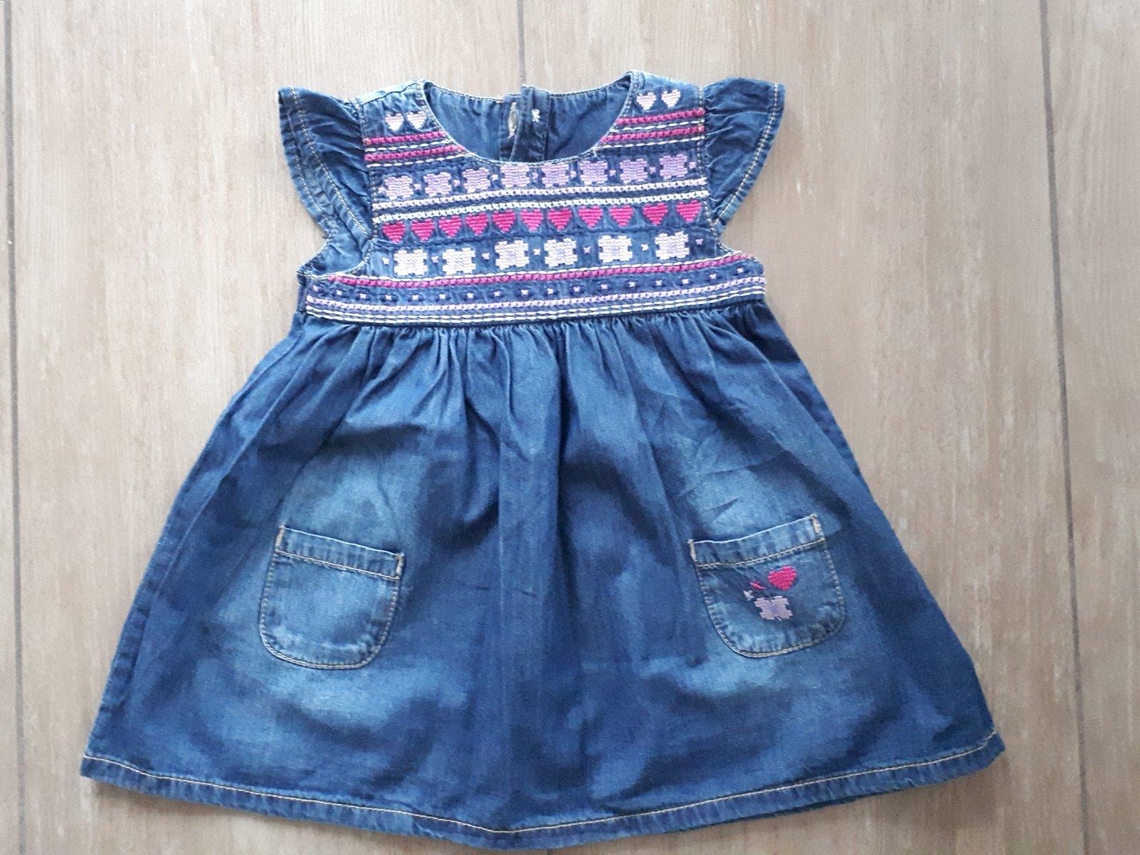9cf1b86bdf96 Džínové šaty