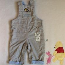 Laclové kalhoty s opičkou zn. m&s, marks & spencer,68
