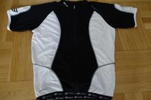 Cyklistický dres force xxl černý, xxl