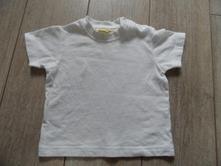 Tričko bílé 3-6 měsíců, cherokee,68