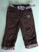 Dvouvrstvé kalhoty s páskem, dopodopo,86