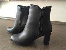 Zimní kožená kotníková obuv, 41
