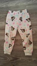 Teplé fleesové pyžamové kalhoty, 110