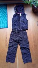 Kalhoty a vesta, palomino,104