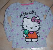 Hvězdičkové tričko hello kitty, next,98