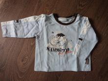 Světlemodré tričko s mamutem, okay,86
