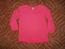 Červené tričko triko dlouhý rukáv, kiki&koko,116