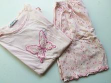 Bavlněné pyžamo motýlek, 128