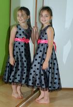 Slavnostní sváteční společenské šaty, ladybird,128