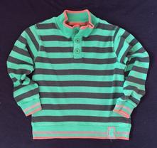 Vel. 116 proužkovaný bavlněný svetr, f&f,116