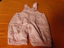 Kalhoty s laclem vel.0-3m, debenhams,62