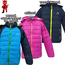 Pěkná zimní bunda pro dítka, ultralehká, skladem, kugo,134 - 164