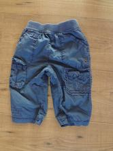 Modré podšité kalhoty marks&spencer, marks & spencer,68