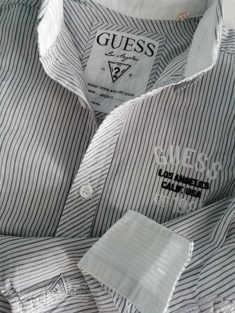 Bavlněná letní košile guess, guess,104
