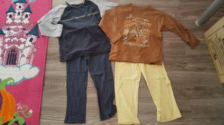 Dvě klučičí pyžama, cherokee,122