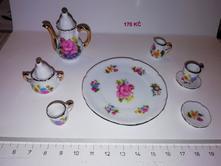 Porcelánový mini servis 10 dílů,
