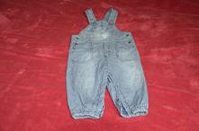 Pruhované kalhoty s laclem 9-12měsíců, lindex,80