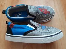 Slip-on tenisky spiderman, velikost 28, deichmann,28