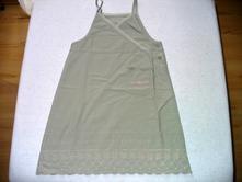 Olivové šaty, vel.104, debenhams,104