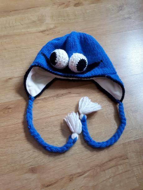 Bezva teplá příšerková čepice, 104