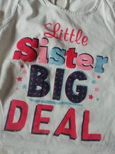 Bavlněné tričko matalan little sister, matalan,98