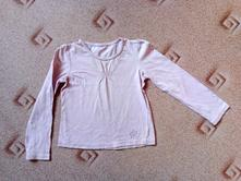 Růžové tričko s kytičkou, 98