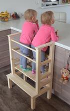 Učící věž pro dvojčata/sourozence,