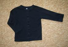Tričko /  propínací letní kabátek, h&m,86