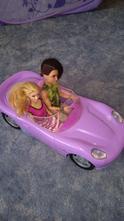 Auto kabriolet pro barbie,