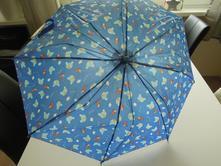 Děštník s medvídkem,