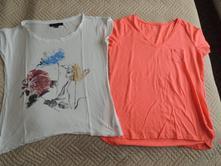 2x tričko, vel. 38 - cena celkem, gate,38