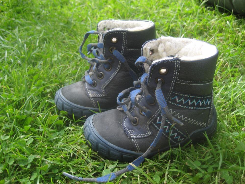 Kožené teplé zimní boty essi c10120e6ee