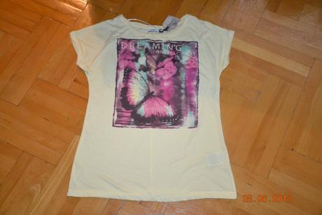 Krásné nové tričko motýl zn. sublevel, vel. xl, xl