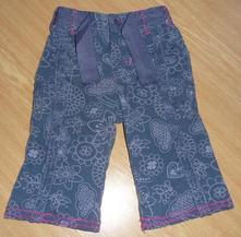 Kalhoty, podšité, oteplené, marks & spencer,68