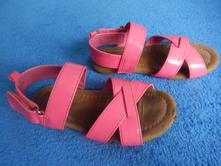 Sandálky neonové, h&m,26