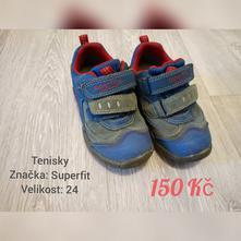 Dětské boty superfit, superfit,24