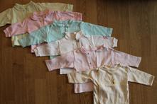 Bavlněné košilky/kabátky, 62