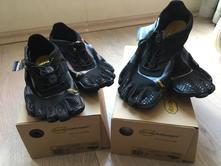 Barefoot tenisky vibram fivefingers kso evo black, 37 / 39