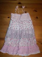 Letní romantické šaty květinky hm, h&m,92
