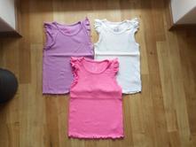 3 ks žebrovaných triček, f&f,122