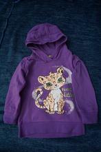 Mikina fialova s kočičkou, kiki&koko,92