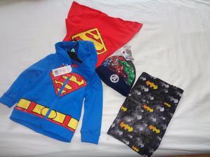 U nás děti milují i měkké dárky :) pro našeho superhrdinu