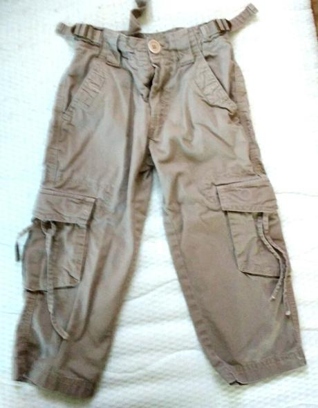P39 - béžové kalhoty , 98