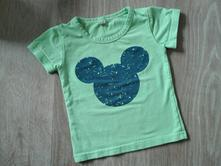 Tricko mickey mouse 6-9m, 74