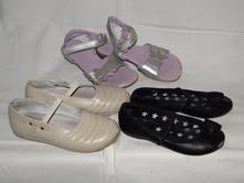 V.30, 3 páry bot, sandále 2x balerínky, f&f,30