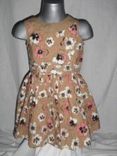 Krásné maceškové šaty - i jako slavnostní, girl2girl,98